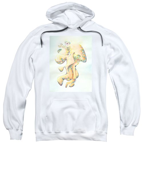 Gold Bejeweled Fertility Goddess Sweatshirt