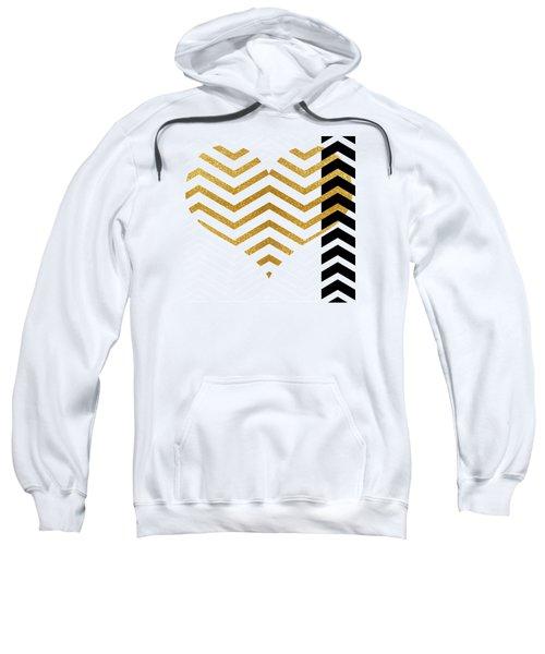 Gold Heart Sweatshirt