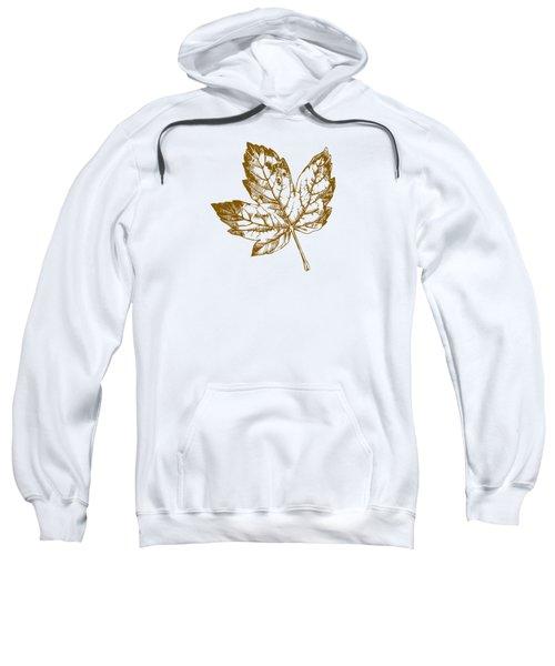 Gold Leaf Sweatshirt