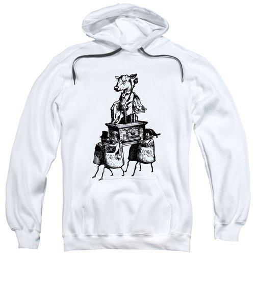 Golden Calf Grandville Transparent Sweatshirt