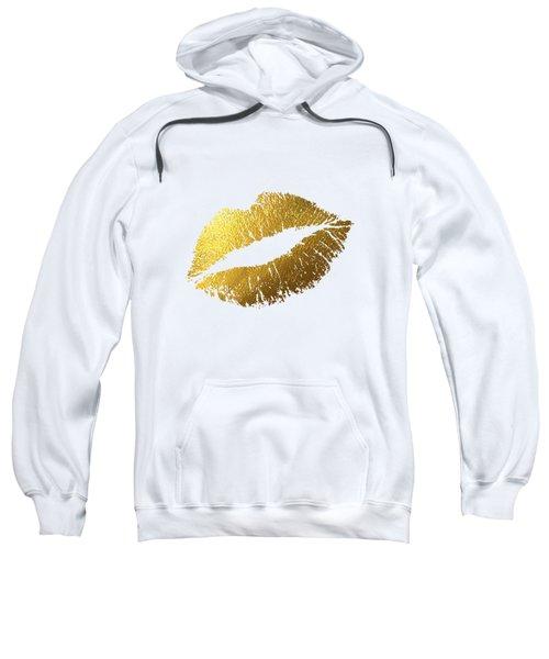 Gold Lips Sweatshirt