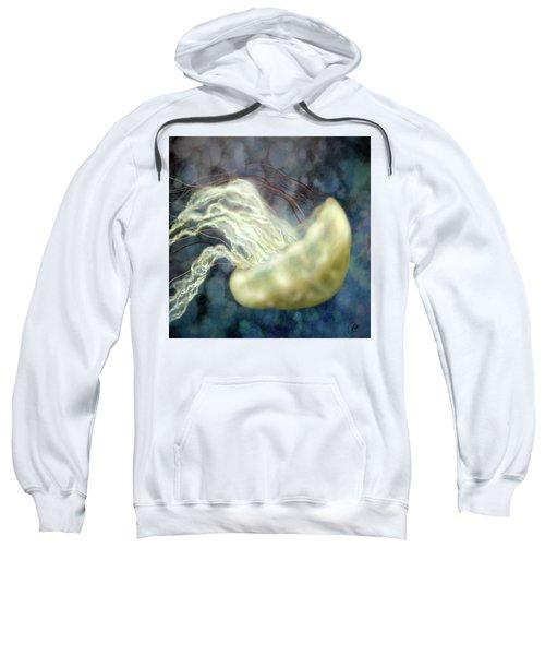 Golden Light Jellyfish Sweatshirt