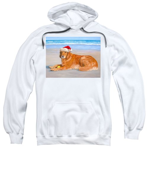 Golden Retreiver Holiday Card Sweatshirt