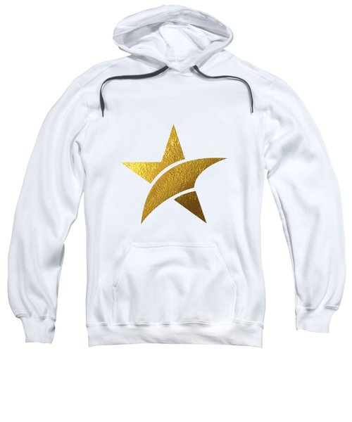 Golden Star Sweatshirt by BONB Creative
