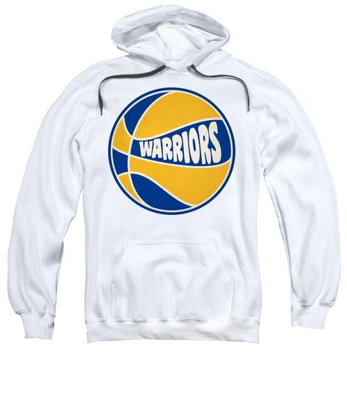 Golden State Warriors Retro Shirt Sweatshirt by Joe Hamilton