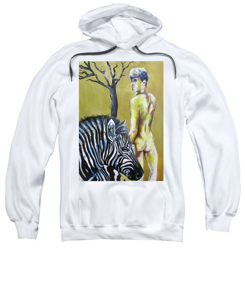 Golden Zebra High Noon Sweatshirt