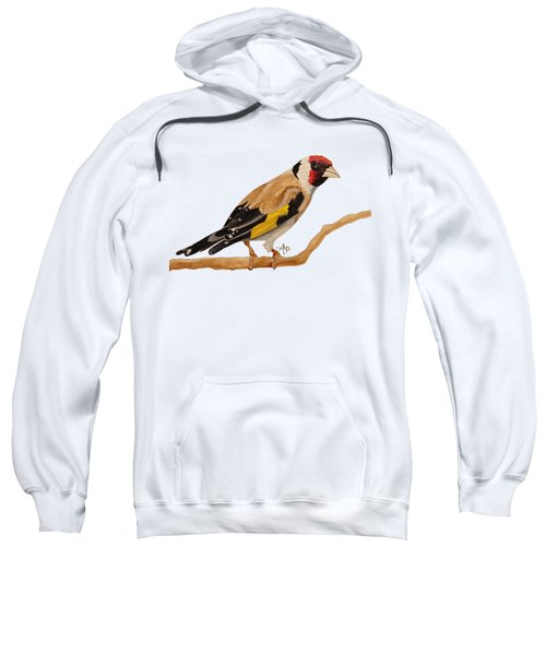 Goldfinch Sweatshirt by Angeles M Pomata