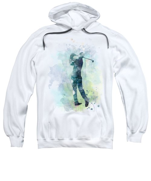 Golf Player  Sweatshirt