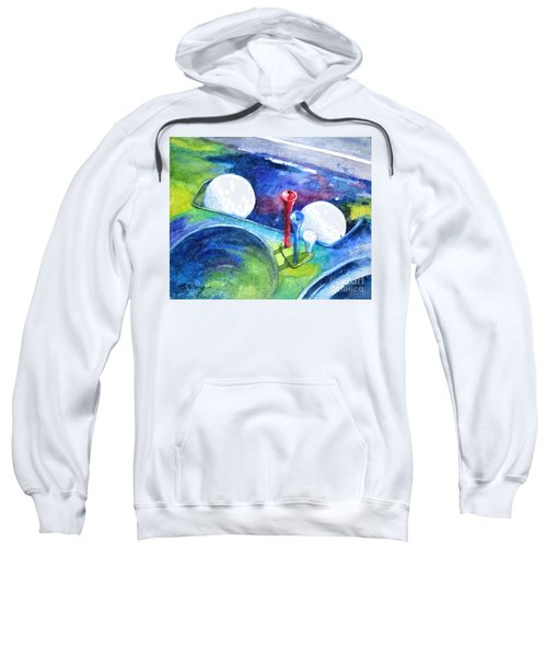 Golf Series - Back Safely Sweatshirt