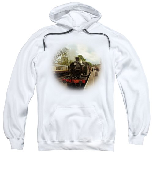 Goliath The Engine And Anna On Transparent Background Sweatshirt by Terri Waters