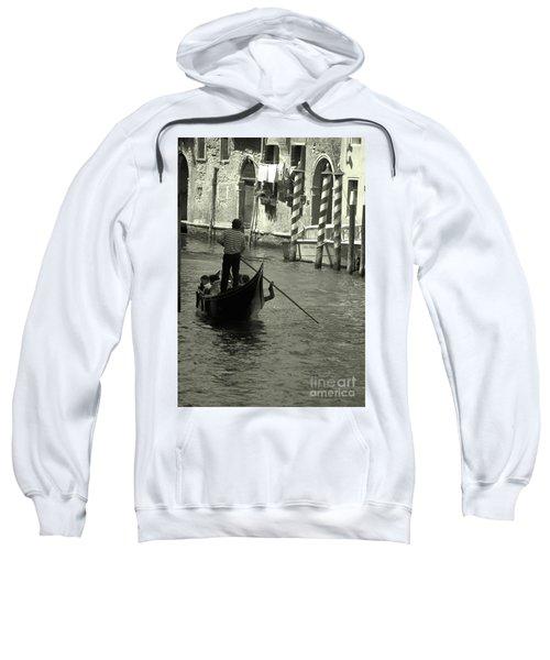 Gondolier In Venice   Sweatshirt