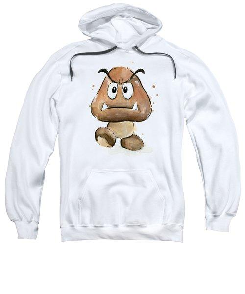 Goomba Watercolor Sweatshirt