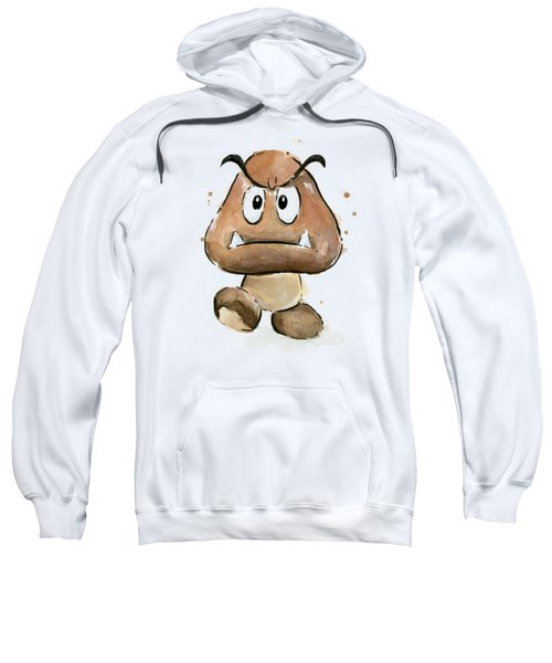 Goomba Watercolor Sweatshirt