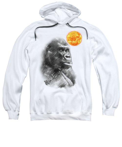 Gorilla Sweatshirt by iMia dEsigN
