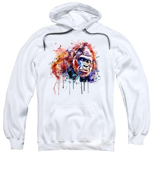 Gorilla Sweatshirt by Marian Voicu