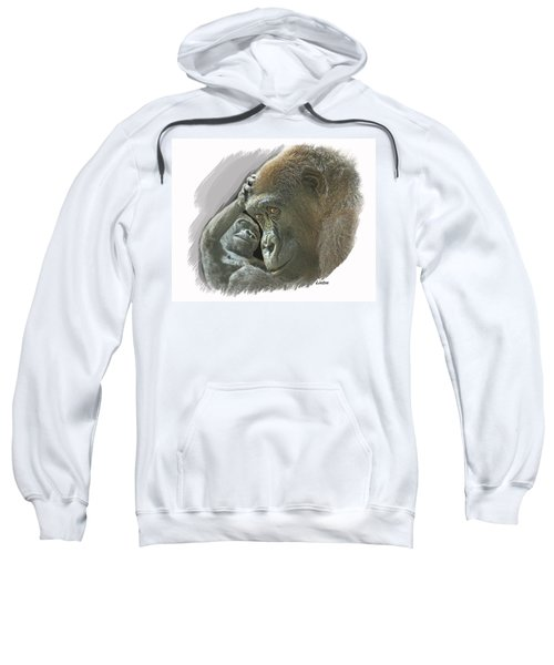 Gorilla Mother Sweatshirt
