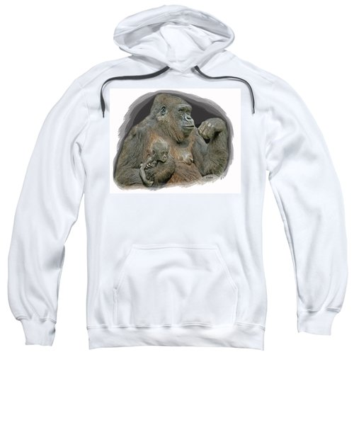 Gorilla Motherhood Sweatshirt