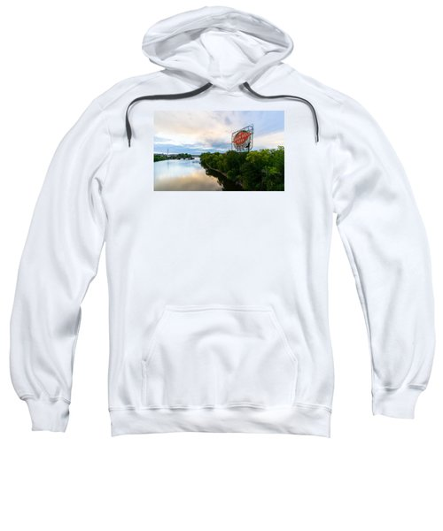 Grain Belt Beer Sign On River Sweatshirt