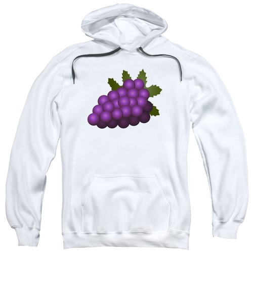 Grapes Fruit Sweatshirt by Miroslav Nemecek