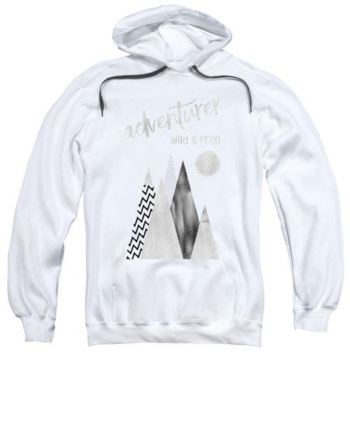 Graphic Art Adventurer - Wild And Free Sweatshirt