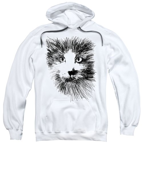 Graphic Cat Sweatshirt