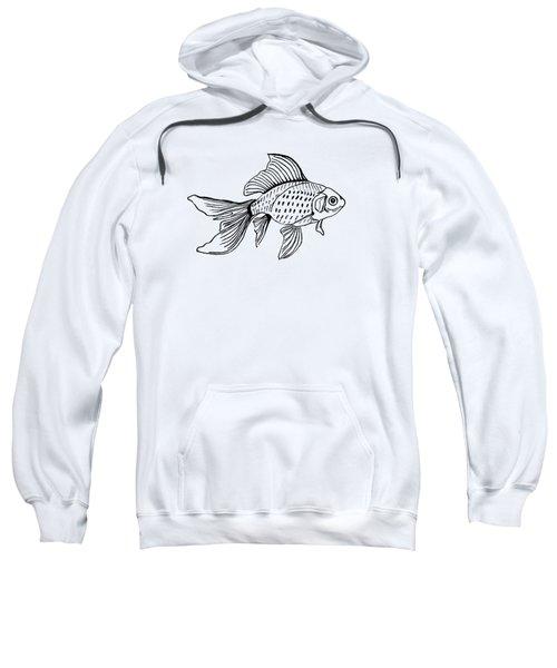 Graphic Fish Sweatshirt