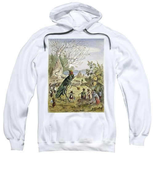 Grasshopper And Ant Sweatshirt