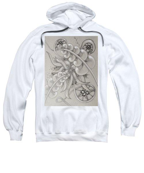 Gray Garden Explosion Sweatshirt