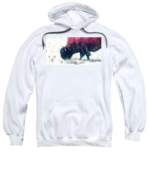 Grazing Bison Sweatshirt