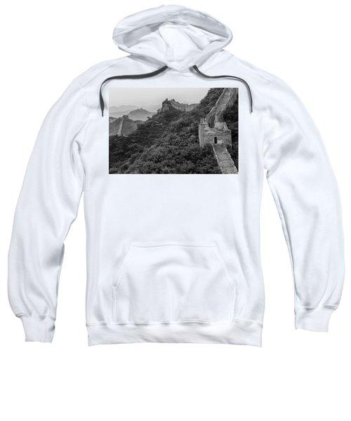 Sweatshirt featuring the photograph Great Wall 3, Jinshanling, 2016 by Hitendra SINKAR