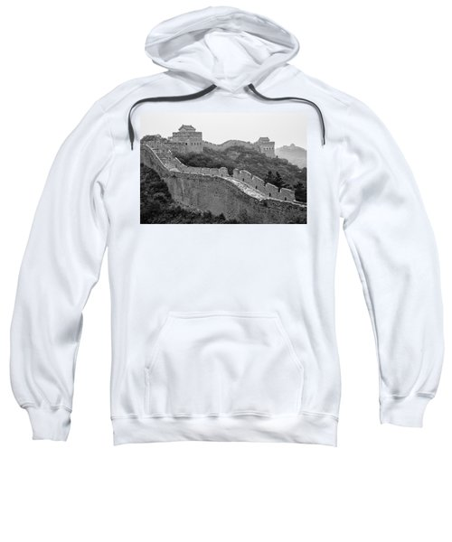 Sweatshirt featuring the photograph Great Wall 8, Jinshanling, 2016 by Hitendra SINKAR
