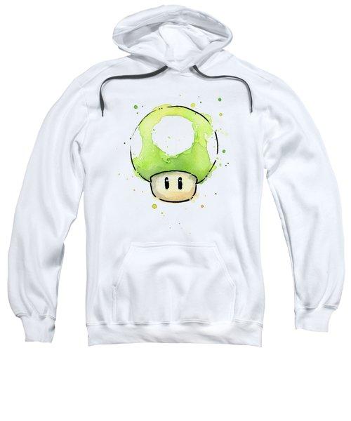 Green 1up Mushroom Sweatshirt