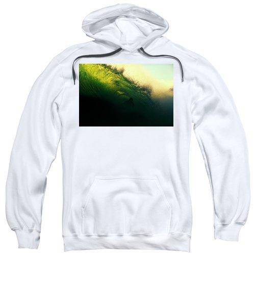Green And Black Sweatshirt