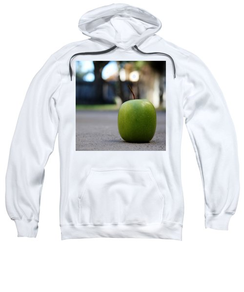 Green Apple- Photography By Linda Woods Sweatshirt
