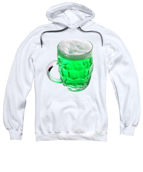 Green Beer Sweatshirt by Stephanie Brock