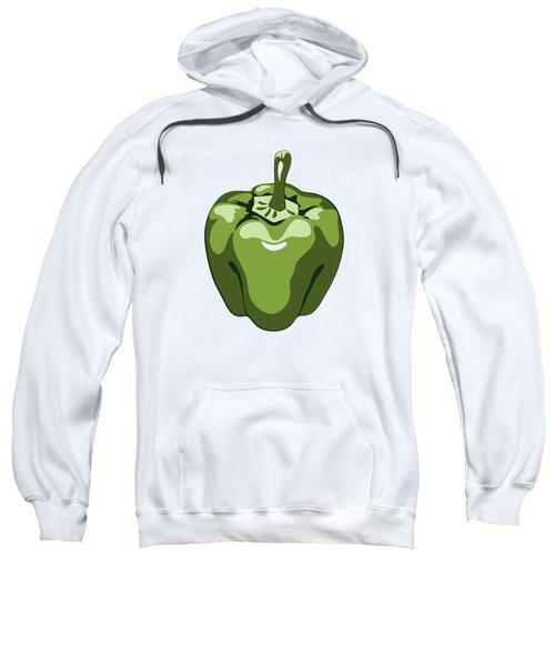 Green Bell Pepper Sweatshirt
