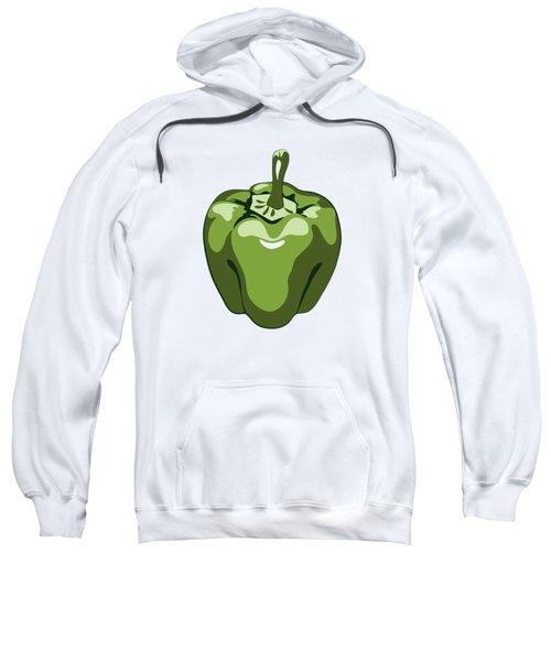 Green Bell Pepper Sweatshirt
