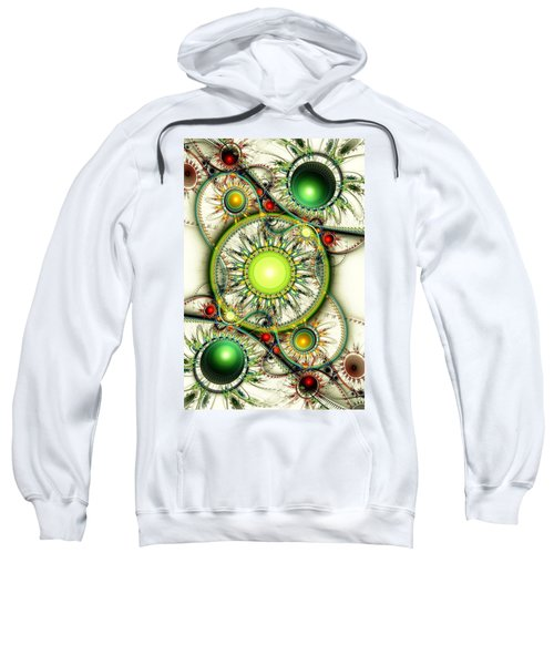 Green Jewelry Sweatshirt