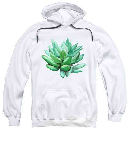 Green Succulent  Sweatshirt