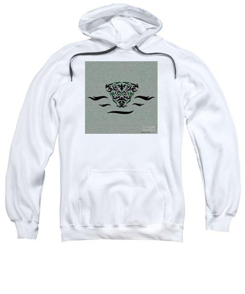 Green Tribal Gator Sweatshirt