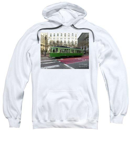 Green Trolley Sweatshirt