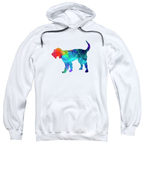 Griffon Nivernais In Watercolor Sweatshirt