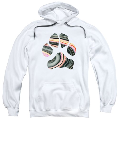 Groovy Dog Paw - Sharon Cummings  Sweatshirt