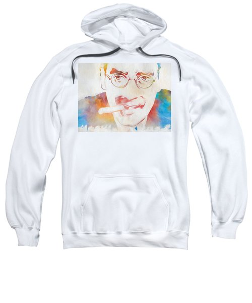 Groucho Marx Sweatshirt by Dan Sproul