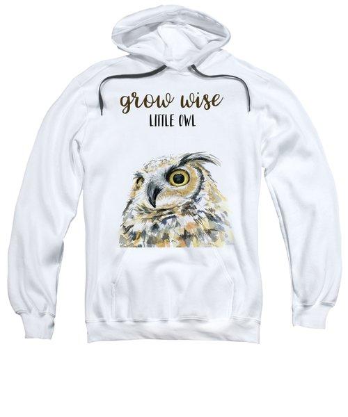 Grow Wise Little Owl Sweatshirt