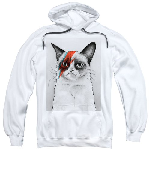 Grumpy Cat Portrait Sweatshirt