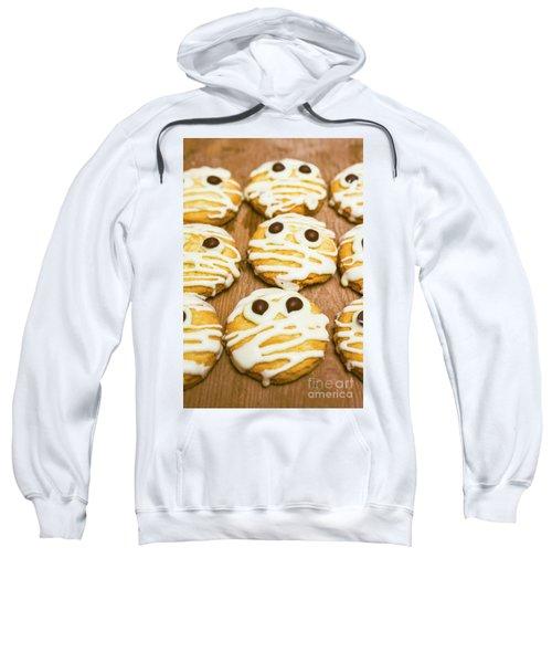 Halloween Little Monster Biscuits Sweatshirt