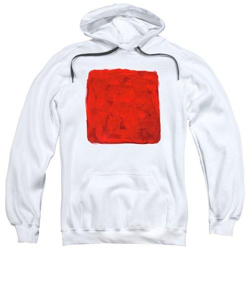 Handmade Vibrant Abstract Oil Painting Sweatshirt by GoodMood Art