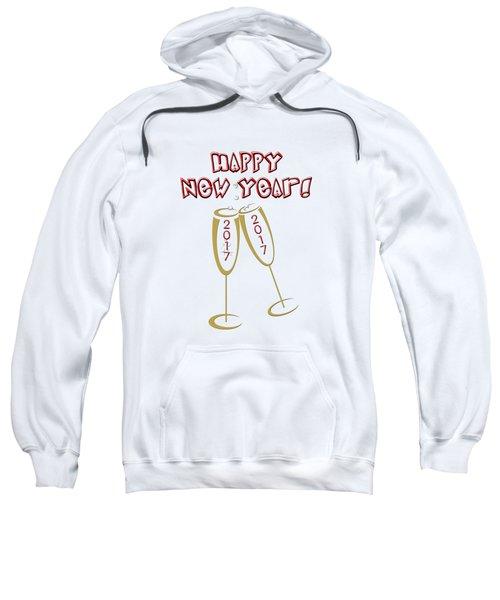 Happy New Year 2017 Sweatshirt