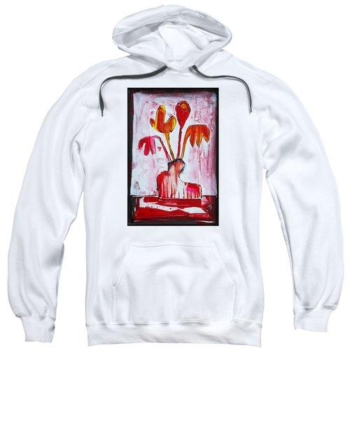 Happy Poppy Sweatshirt by DAKRI Sinclair